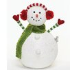 Roman, Inc. Musical Snowman Figurine with Earmuff
