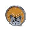 "Ashton Sutton 12"" Cat Eye Pendulum Wall Clock"