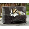 The Refined Canine Dog Day Bed with Outdoor Cushion
