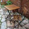 Furniture Designhouse European Café Folding Side Chair (Set of 2)