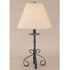 "Coast Lamp Mfg. Coastal Living Iron S-Leg 28.5"" H Table Lamp with Empire Shade"