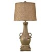 "Coast Lamp Mfg. Casual Living Casual Pot 32"" H Table Lamp with Empire Shade"