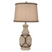 "Coast Lamp Mfg. Coastal Living Classic Casual Pot 28.5"" H Table Lamp with Empire Shade"