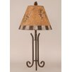 """Coast Lamp Mfg. Rustic Living Iron 28.5"""" H Accent Table Lamp with Empire Shade"""
