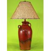 "Coast Lamp Mfg. 3 Handle Pot 30"" H Table Lamp with Empire Shade"
