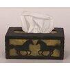 Coast Lamp Mfg. Horse Rectangular Tissue Box Cover