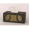 Coast Lamp Mfg. Horseshoe Rectangular Tissue Box Cover
