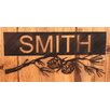 Coast Lamp Mfg. Pine Cone Branch Personalized Sign