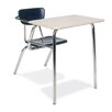 "Virco 3000 Series 29"" Plastic Combo Chair Desk"