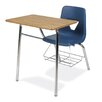 """Virco 2000 Series 31"""" Laminate Combo Chair Desk with Bookrack"""