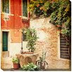 West of the Wind Outdoor Canvas Art Ancient Well Photographic Print on Wrapped Canvas