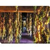 West of the Wind Outdoor Canvas Art Hanging Grapes Wrapped Photographic Print on Canvas