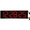 """Big Time Clocks Long Distance 9"""" Digit LED with Remote Control Countdown Clock"""
