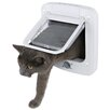 Trixie Pet Products 4 Way Cat Door with Rotary Lock