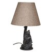 "Santa's Workshop Seated Bear 24.5"" H Table Lamp with Empire Shade"