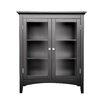 "Elegant Home Fashions Madison Avenue Dark 26"" x 32"" Free Standing Cabinet"