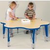 "TotMate ""My Place"" Play Round Geometric Classroom Table"