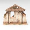 Fontanini Resin Stable for Nativity Figurine