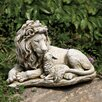 Joseph's Studio Lion and Lamb Garden Statue