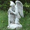 Joseph's Studio Kneeling Male Angel Statue