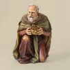 Joseph's Studio Painted Kneeling Wiseman Figurine