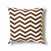 Twinkle Living ZigZag Cotton Throw Pillow