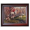 Rightside Design 'Going Home' by Sam Savitt Framed Photographic Print on Wrapped Canvas