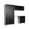 NewAge Products Performance Plus Diamond Series 7' H x 8' W x 2' D 5 Piece Cabinet Set