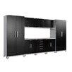NewAge Products Performance Plus Diamond Series 7' H x 13' W x 2' D 9 Piece Cabinet Set