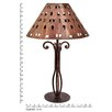"""Jezebel Gallery Tribal 22.25"""" H Table Lamp with Empire Shade"""