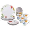 BonJour Al Fresco 16 Piece Dinnerware Set