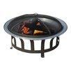 Sunjoy Obrien Steel Wood Fire Pit