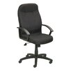 Boss Office Products Adjustable Fabric High-Back Executive Chair