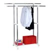 Furinno Yijin Heavy Duty Dual Level Retractable Rolling Drying Rack