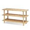 Furinno Pine Solid Wood 3 Tier Shoe Rack