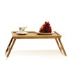 "Furinno Bamboo 8.7"" H x 24.4"" W Lapdesk Bed Tray"
