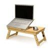 Furinno Pine Adjustable Ventilated Notebook Laptop Desk