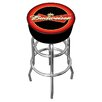 "Trademark Global Budweiser 31"" Swivel Bar Stool with Cushion"