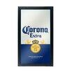 Trademark Global Corona Can Framed Logo Wall Mirror