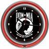 "Trademark Global POW 14"" Double Ring Wall Clock"