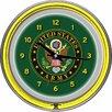 "Trademark Global U.S Army 14.5"" Symbol Double Ring Neon Wall Clock"