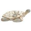Woodland Imports Polystone Turtle Figurine