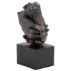 Woodland Imports Completely Weather Resistant and Lightweight Hands Statue