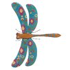 Woodland Imports Dragonfly Wall Décor