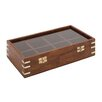Woodland Imports The Simple But Lovely Wood Glass Box