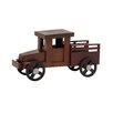 Woodland Imports Attractive Wood Truck Sculpture