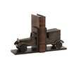 Woodland Imports Classy Wood Car Book Ends (Set of 2)