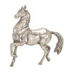 Woodland Imports The Lifelike Aluminum Horse Figurine