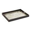 Woodland Imports Wonderful Wood Glass Tray