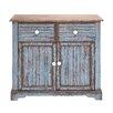 Woodland Imports Beautiful Wood Cabinet
